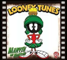 "MARVIN THE MARTIAN FRIDGE MAGNET LOGO 7. 4"" X 4"". LOONEY TUNES.....FREE SHIPPING"