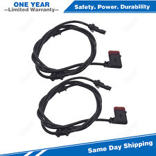2x Rear ABS Speed Sensor For 07-09 Mercedes-Benz E280 E500 E320 E350 E55 E63 AMG
