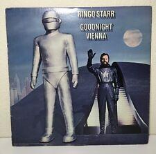 1974 Ringo Starr Good Night Vienna Vinyl Record with 50's SCI-FI Robot. RARE!