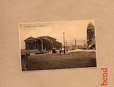vintage postcards St Georges Hall Liverpool street scene unposted art