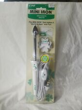 CNI Mini Iron for sewing and quilting projects 2 settings