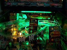 Creature From The Black Lagoon, Indiana Jones Pinball Playfield Light Mod GREEN