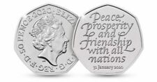Official UK Brexit 50p Coin Brand New 31st January 2020 ....0006
