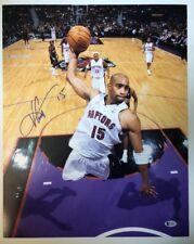 Vince Carter Signed Autographed 16x20 Photo Toronto Raptors BECKETT COA 4