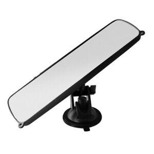 Car Truck Interior Rear View Mirror Wide Flat Clear Lens Anti-glare Universal