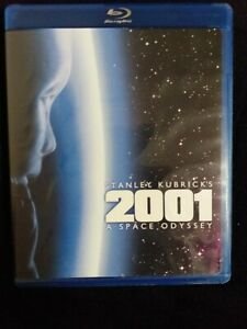 2001: A Space Odyssey Blu Ray (Region A/US).