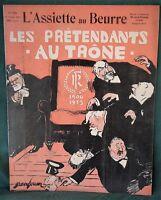 L'Assiette au Beurre #250 French Politicians 1906 Jules Grandjouan Caricatures