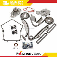 Timing Chain Kit Water Pump Oil Pump Cover Gasket Fit 02-06 Dodge Chrysler 2.7