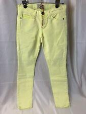 Current/Elliott Neon Yellow Womens Size 24 Skinny Jean The Stiletto