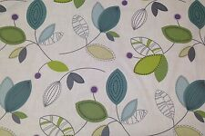 MAGNOLIA HOME CALDER JEWEL GREEN ABSTRACT LEAF MULTIUSE FABRIC BY THE YARD 54
