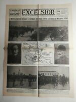 N330 La Une Du Journal Excelsior 26 juin 1920 la nouvelle guerre d'Orient