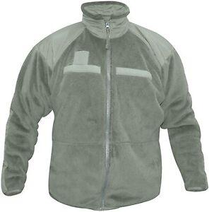 US Military Gen III Polartec Cold Weather Fleece Jacket - Medium - Pre-Owned
