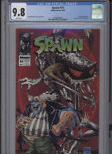 SPAWN #14 MT 9.8 CGC WHITE PAGES VIOLATOR APP. MCFARLANE COVER STORY AND ART