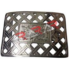 Scottish Kilt Belt Buckle Latice Thistle Design Chrome Finish/Thistle Buckle