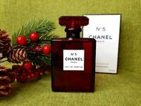 "CHANEL "" N. 5 RED EDITION "" Eau de Parfum ml. 100"