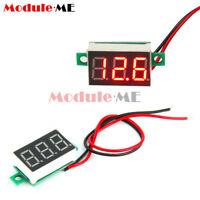 5PCS Mini Red LED 3-Digital Display Panel Voltage Meter Voltmeter Tester