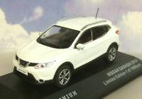 Triple 9/T9 Premium 1/43 de Metal 2014 Nissan Qashqai Blanco Perla T9p10028