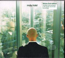 MOBY HOTEL HOTEL AMBIENT 2 CD EDIZIONE DE LUXE SIGILL.