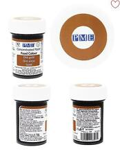 Food Concentrated Paste Colour Gel Gold 25g