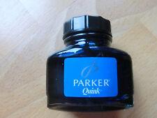 Parker Quink Tinte Fass 57ml 011247021685 Auswaschbare blaue  Tinte NEU