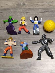 Lot of Dragon Ball Z Toys Figures Dragonball Z DBZ Burger King Toy Piccolo Goku