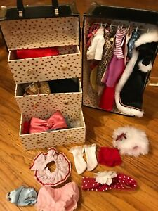Danbury Mint Betty Boop Wardrobe Collection Trunk & Sets of Fashions