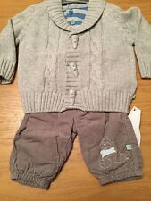 BNWT Boys 3 Piece Outfit By Ex Humphreys Corner (3-6 Mth) *REDUCED* RRP £24
