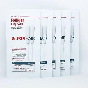 Dr.FORHAIR Folligen Easy Swab 6ml x 5pcs Hair Cleansing Refreshing K-Beauty