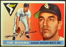 1955 Topps #58 JIM RIVERA Chicago White Sox VG-EX