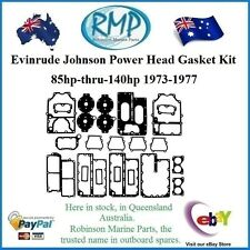 A New Powerhead Gasket Kit Evinrude Johnson 85hp-thru-140hp 1973-1977 # 388602