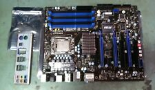 MSI MS-7522 Motherboard LGA 1366 Socket B Ver: 3.1 W/ I/O Shield I7-960 CPU