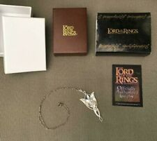 The Lord of the Rings Arwen necklace Evenstar (Evening Star) Silver & Swarovski