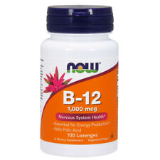 Vitamin B-12, 1000mcg x 100Loz - NOW Foods