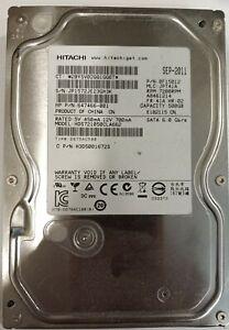 Hitachi 500Gb SATA Hard Drive 7200RPM HDS721050CLA662