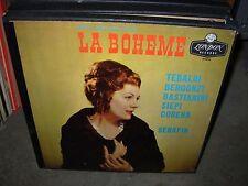 SERAFIN / PUCCINI / la boheme ( classical ) 2lp box - london  A 4236 -