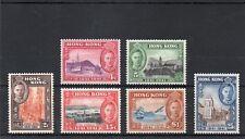 Hong Kong GV1 1941 Centenary set sg 163-68 H.Mint