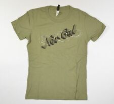 Nor Cal STAR Womens Short Sleeve T-Shirt Size Medium Army Green NEW