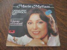 45 tours MARIE MYRIAM l'oiseau et l'enfant grand prix eurovision 1977