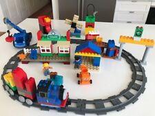LEGO DUPLO Thomas the Tank Train Callun station & Bob the Builder Lofty, Dizzy