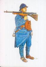 C1 Carte Postale DESSIN JULLIAN Centenaire 14 18 Poilu Fusil Mitrailleur - 04