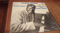 Lloyd Glenn After Hours Piano Blues & Boogie Woogie LP Record 1982 Oldies Blues