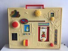Tableau activité Chicco Play Center vintage 1979 tableau d'éveil