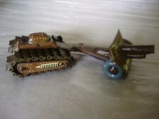 WOW!! SPCL ** SIMPLY RARE * Imperial Japan Army Tank & Cannon Tin Toy Set w Box