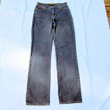 NYDJ Marilyn Size 2 Blue Straight Leg Tummy Tuck 731 Not Your Daughter's Jeans