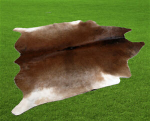 """100% New Cowhide Rugs Area Cow Skin Leather (53"""" x 53"""") Cow hide WWL-41"""