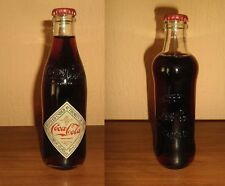 2 UNOPENED FULL Glass Bottles Coca Cola 125 Years Anniversary Limited Edition