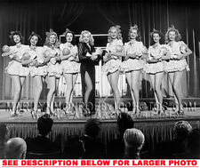 MARILYN MONROE ONSTAGE WITH BABY DOLLS 1xRARE5X7 PHOTO