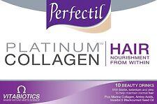 Perfectil Platinum Collagen HAIR 10 x Nourishing Beauty Drinks 50ml each
