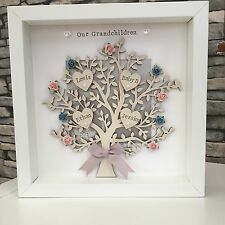 💛Personalised Family Tree Frame Gift For Mothers Day / Grandma/ Birthday