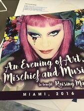 Madonna Tears Of A Clown Programme Miami Raising Malawi